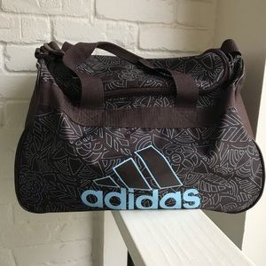 Adidas Brown Duffle / Gym Bag Medium size